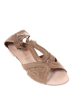 morena et gabbrielli sandales et nu et pieds femme de couleur marron