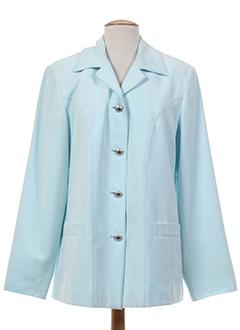 arielle vestes femme de couleur bleu