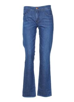 greenandpepper jeans femme de couleur bleu