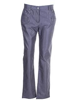 jensen pantalons femme de couleur gris
