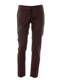corleone pantalons et decontractes femme de couleur violet