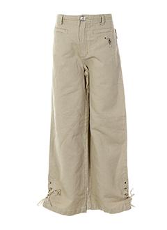 floriane pantalons et decontractes fille de couleur beige