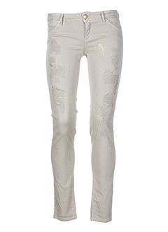 kocca pantalons et decontractes femme de couleur beige