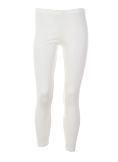 animale pantalons femme de couleur blanc