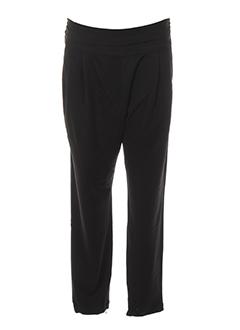 Pantalon casual noir ANKOREL pour femme
