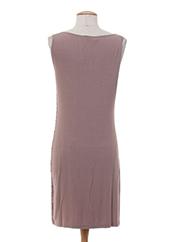 Robe mi-longue violet ANKOREL pour femme seconde vue