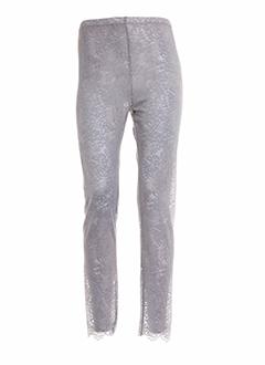 poussiere et d et etole leggings femme de couleur gris