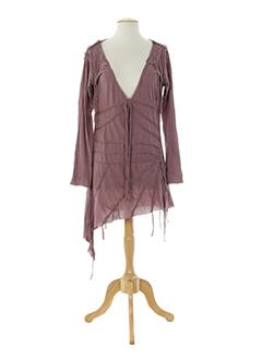 chilli pepper tuniques femme de couleur violet