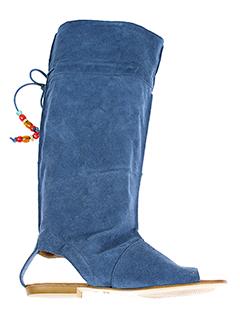 valentino et moda sandales et nu et pieds femme de couleur bleu
