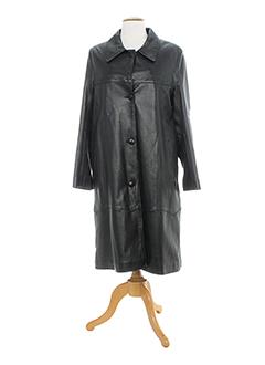 la et canadienne manteaux et longs femme de couleur noir