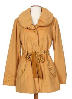 ddp vestes femme de couleur jaune