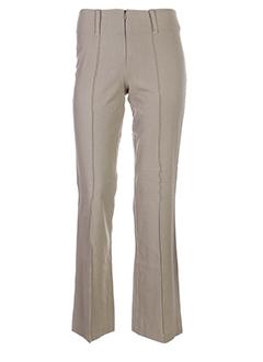 gardenia pantalons et citadins femme de couleur beige