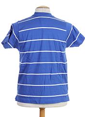 T-shirt manches courtes bleu HOOD pour homme seconde vue