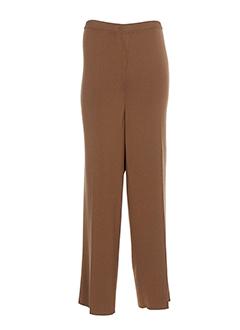 attitude pantalons et decontractes femme de couleur marron