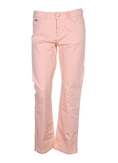 gerard darel pantalons femme de couleur orange