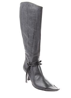 pietro et bianchi bottes femme de couleur gris