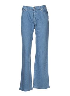 aqua jeans femme de couleur bleu
