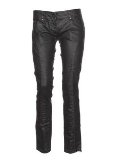 aeronautica pantalons et decontractes femme de couleur noir