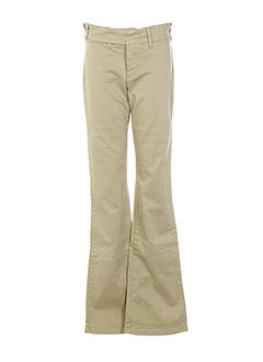 cimarron pantalons et decontractes fille de couleur beige