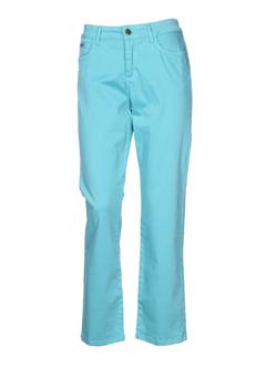 darel blue pantalons femme de couleur bleu