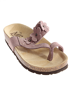 mercante di fiori chaussures fille de couleur rose