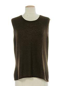 il punto chemises femme de couleur marron