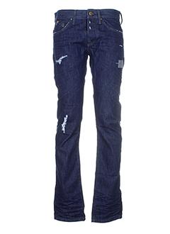 freesoul jeans et coupe et droite homme de couleur bleu