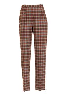 aquarelle pantalons et decontractes femme de couleur marron