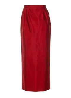 alouette jupes femme de couleur rouge