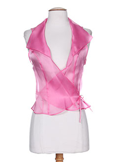 paule vasseur chemises femme de couleur rose
