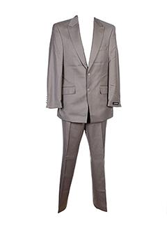 Costume de ville gris MASTERHAND pour homme