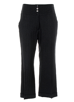 olivier strelli pantalons femme de couleur noir