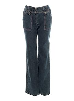 nathalie chaize jeans femme de couleur bleu