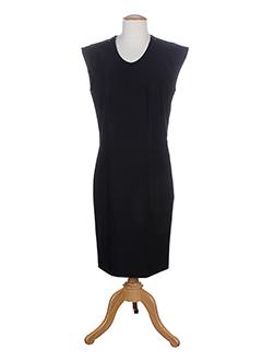 Robe mi-longue noir EVA & LOLA pour femme