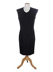 Robe mi-longue noir EVA & LOLA pour femme seconde vue