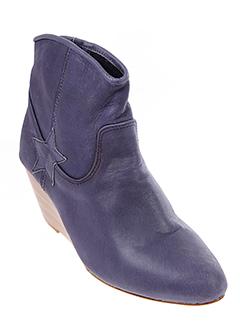 betty et boom boots femme de couleur bleu
