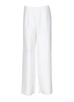 pauporte pantalons et citadins femme de couleur blanc