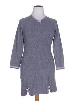 alba chemises et de et nuit femme de couleur gris (photo)
