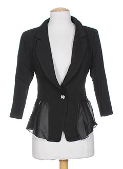 angeleye vestes femme de couleur noir