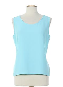 frank usher t-shirts femme de couleur bleu