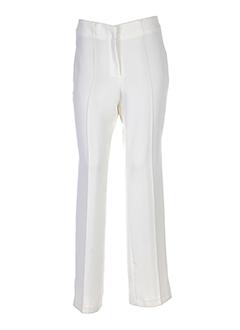 mathieu paris pantalons femme de couleur beige