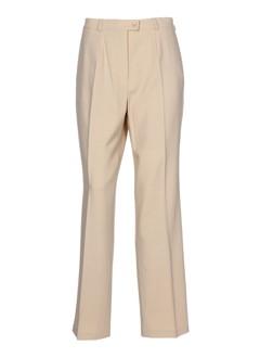 baronia pantalons femme de couleur beige