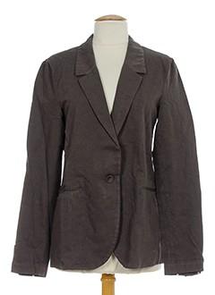 Veste chic / Blazer gris POMANDERE pour femme