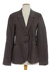 Veste chic / Blazer gris POMANDERE pour femme seconde vue