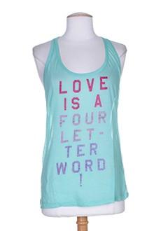 nolita t-shirts femme de couleur bleu