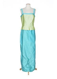 alouette robes femme de couleur bleu
