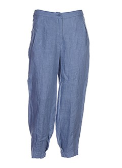 cannisse pantalons et decontractes femme de couleur bleu