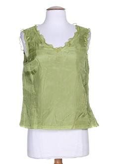 paul mausner chemises femme de couleur vert