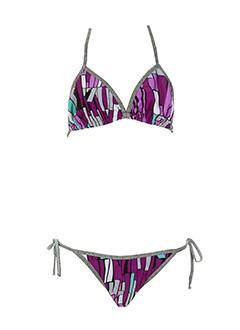 bahia beach baule maillots de bain femme de couleur violet