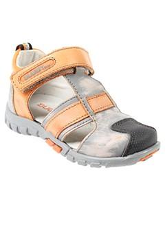 buggy chaussures garçon de couleur orange